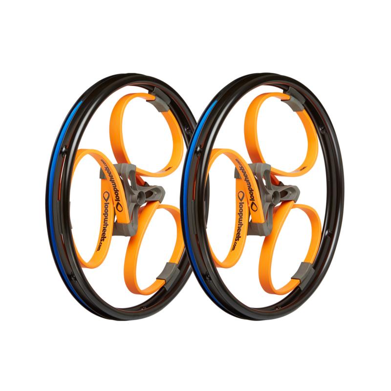 Loopwheels Arancioni logo nero
